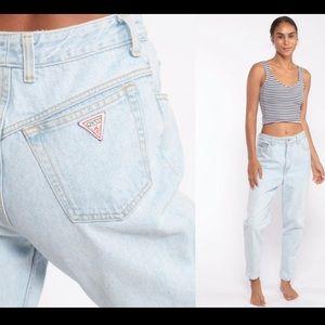 Vintage Palmetto High Waisted Mom Jeans